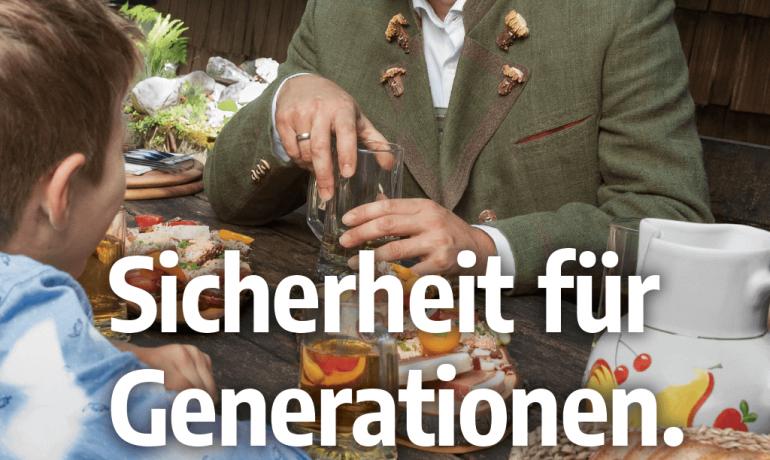 """""""Sicherheit für Generationen."""" – Hochformat"""