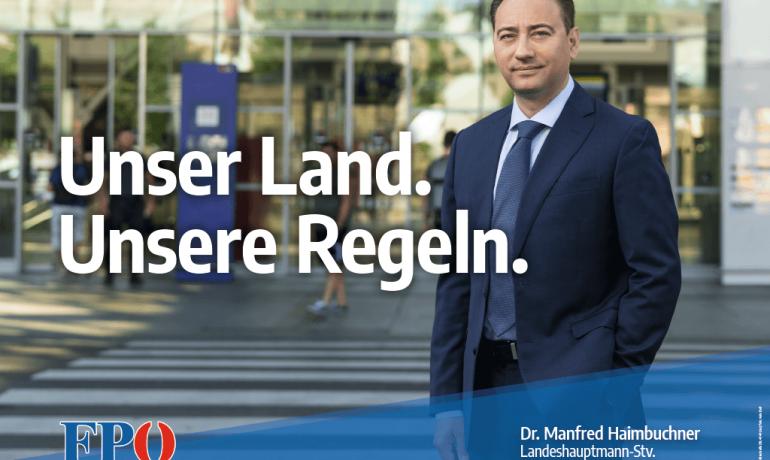 """""""Unser Land. Unsere Regeln."""" – 16 Bogen"""
