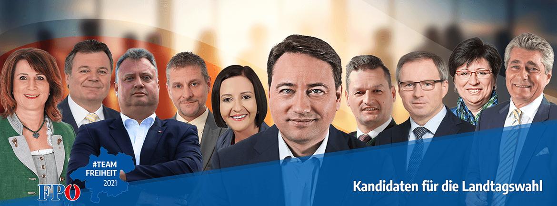 Kandidaten für die Landtagswahl